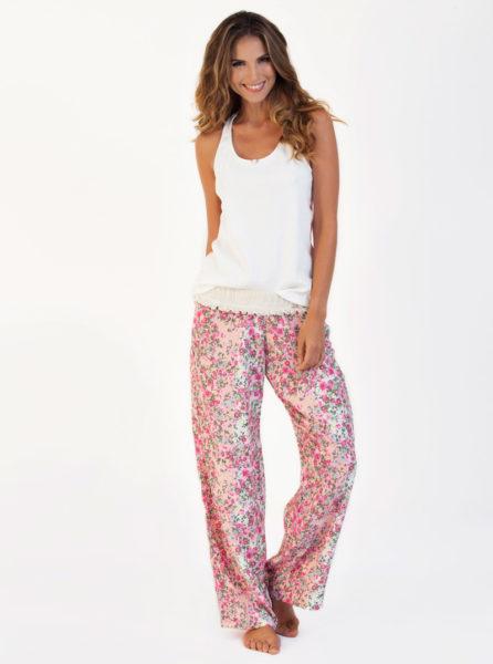 7e091caa6 Pijama Pantalon Largo Garden